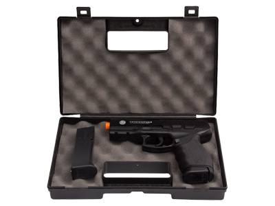 Pistola de Airsoft Taurus Black 24/7 Mola Plast Cal 6MM  Maleta Rossi