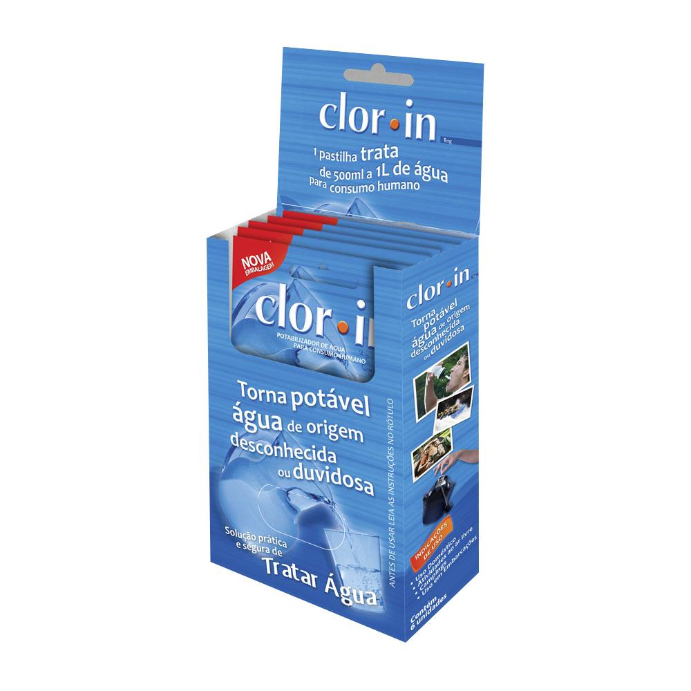 Pastilha Purificadora Clorin Acuapura - 10 unidades