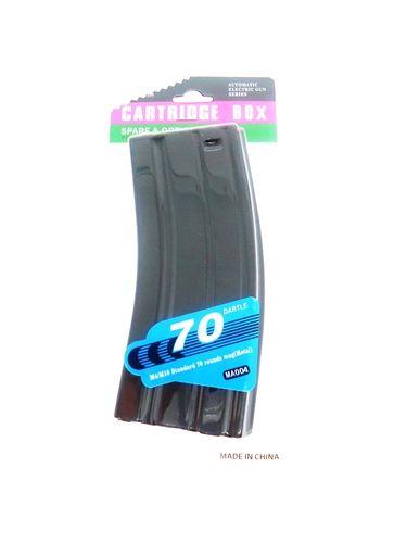 Magazine / Carregador M4 Stanag  Metal (70 rounds) AEG - Evo