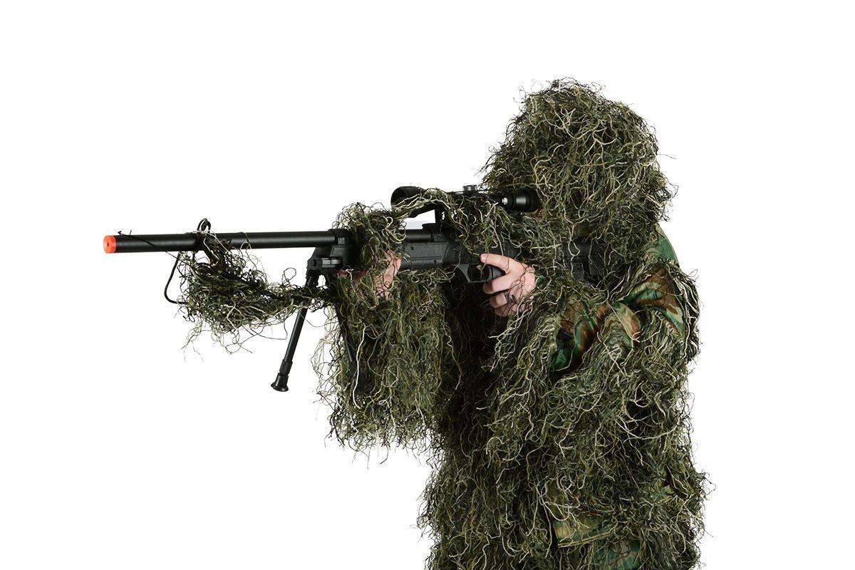 Roupa Sniper Ghillie Suite Verde Olive