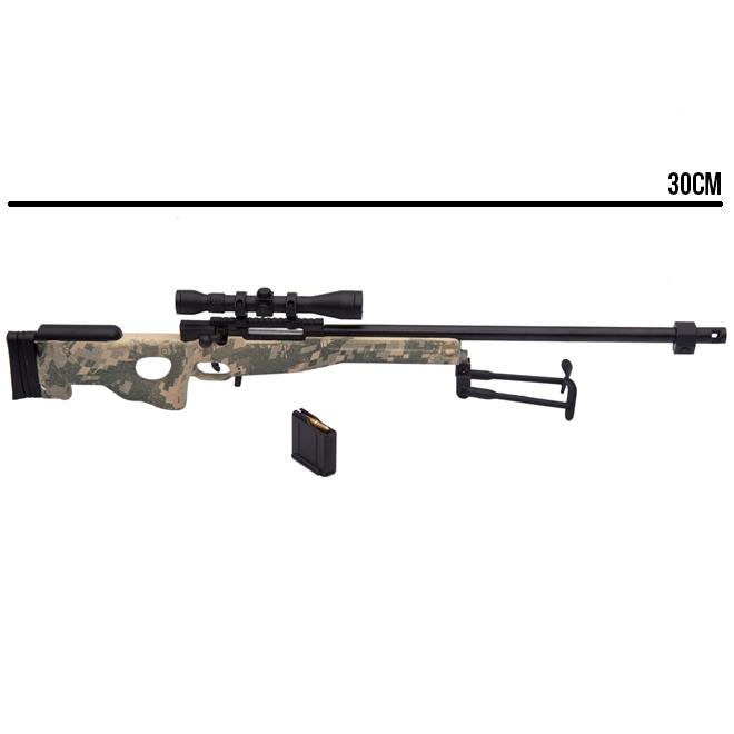 Miniatura Rifle AWP L96 Camuflado 30CM