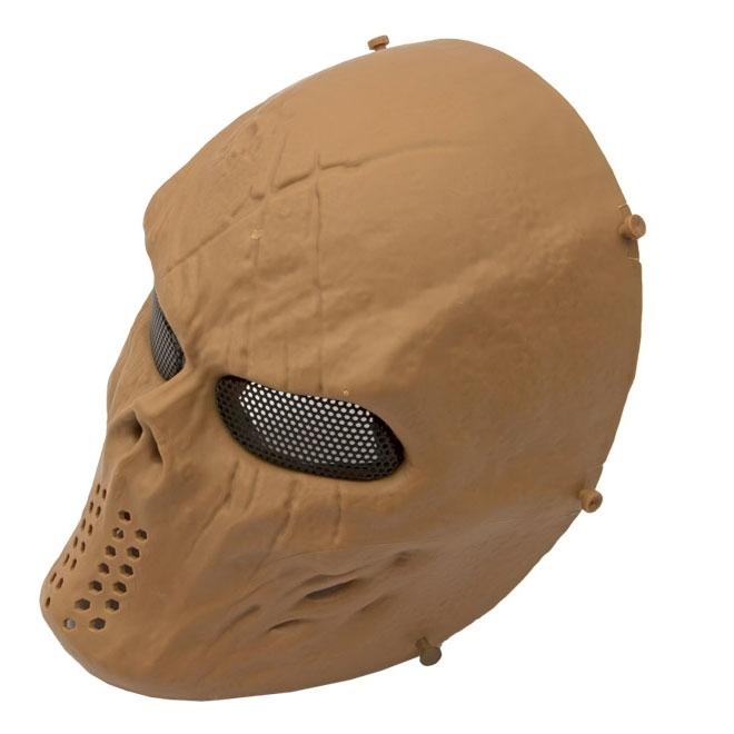 Máscara Tática de Caveira Highlander Tan HY052