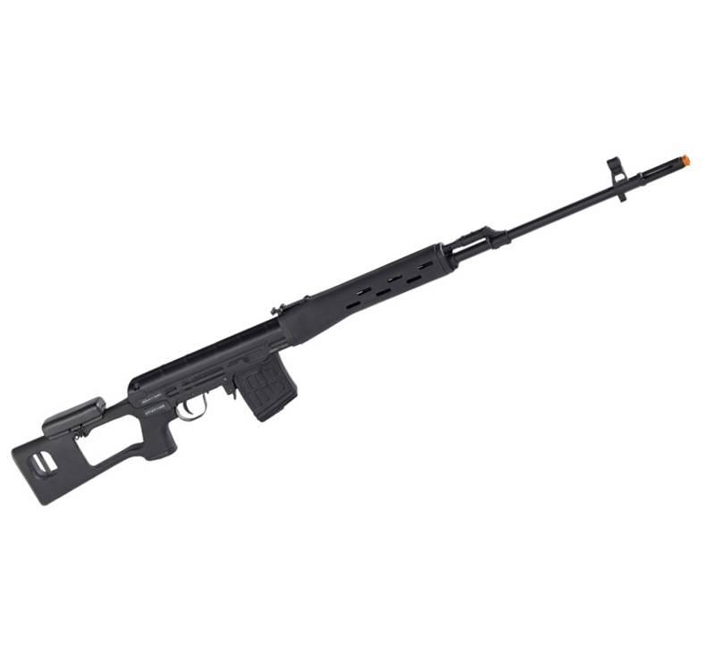 Rifle de Airsoft Kalashinlkov SVD Sniper Elet BB 6MM