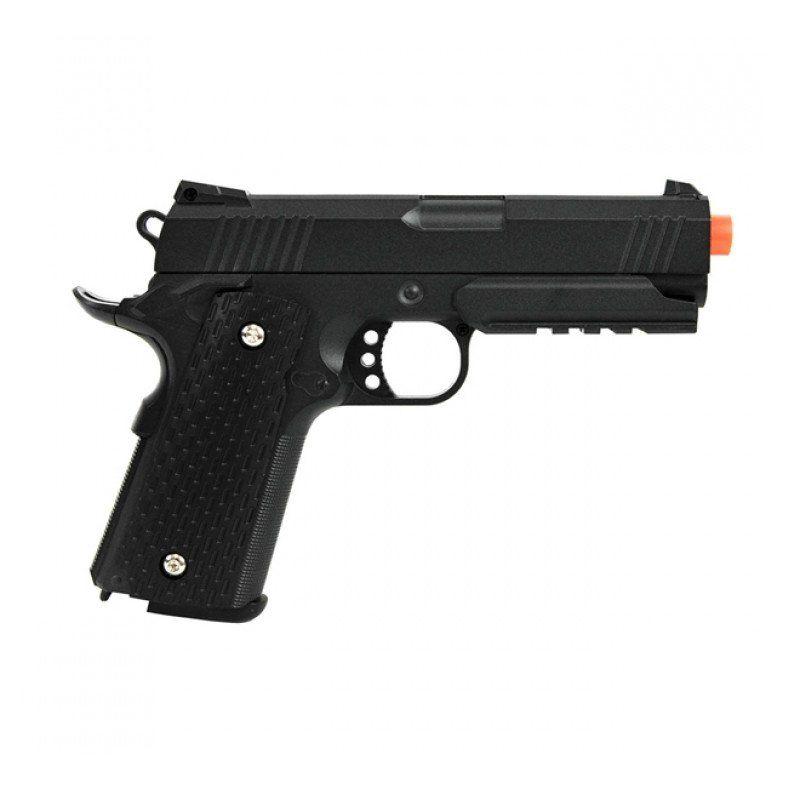 Pistola de Airsoft G25 + Mola Metal 6MM C/Coldre Plast