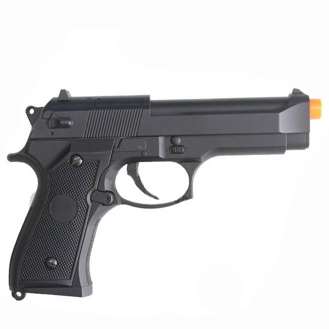 Pistola de Airsoft M92F Preta Cyma Elet .Metal 6MM Beretta