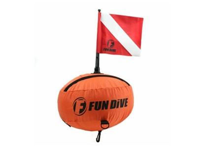 Boia Redonda com capa Nylon Fun Dive