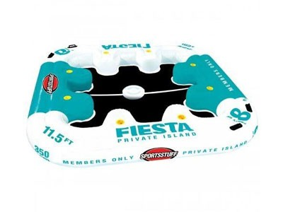 Boia Sportsstuff Fiesta Island C/ Cooler Flutuante 8 pessoas