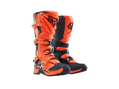Bota de Motocross Fox Comp P5 Youth 16 Laranja
