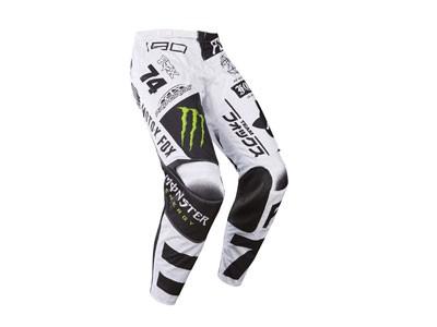 Calca de Motocross Fox 180 Monster Black / White/ Green