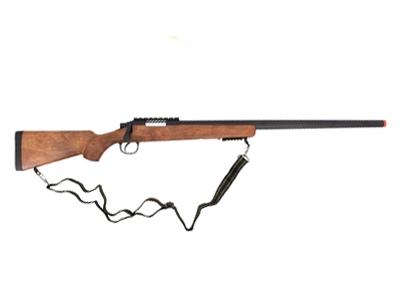 Sniper de Airsoft Well MB03D Bolt VSR-10 Coronha Madeira