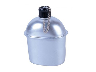 Cantil Alumínio Nautika 0,9L C/ Capa