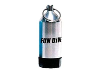 Chaveiro Minicilindro Aluminio Fun Dive