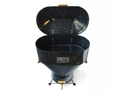 Churrasqueira a Carvão Apolo 10 Esmaltada Preto