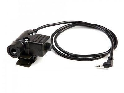 Chave Interruptor Para Microfone/radio Comunicador Baofeng Z113 Ken -  Zu94 Ptt Military Standard Version