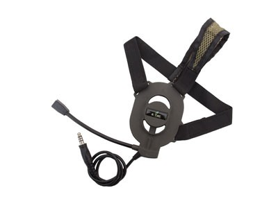Fone com Microfone para Radio Comunicador Z027FG Zbowman Elite  Headset