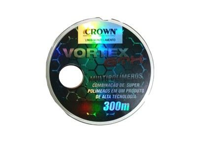 Linha Crown Monofilamento Vortex GTX 300m