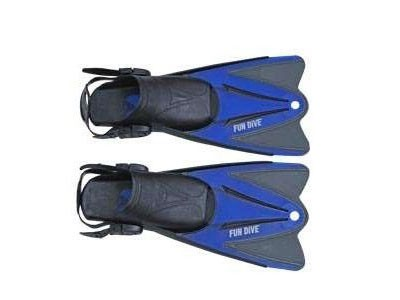 Nadadeira Pé Aberto Snorkeling Fun Dive