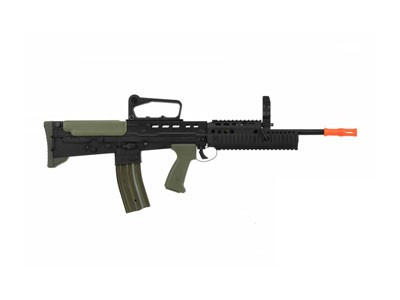 Rifle de Airsoft Army R85a2 RIS L85 Ebb Elétrica 6 mm