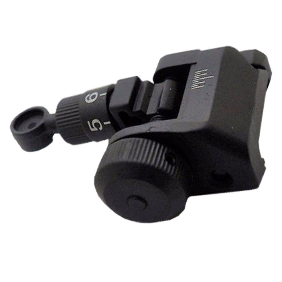 Alça de Mira Para Airsoft Kac MP035 20mm E&C