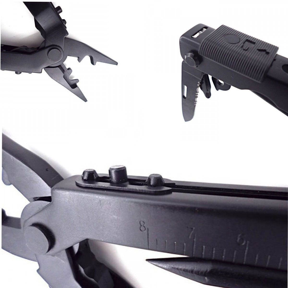 Alicate Armais Multifuncional Preto 8300A-B