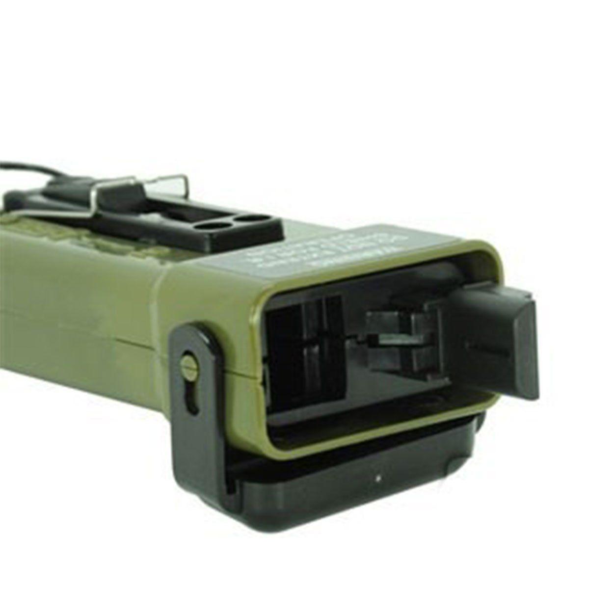 Alimentador Para Airsoft MS2000 130 BBs Preto FMA
