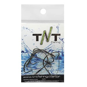 Anzol TNT Black Nickel Anti Enrosco 5 Unidades
