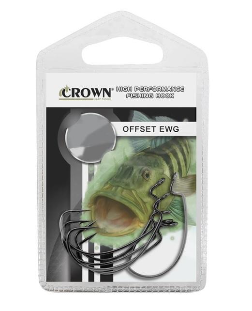Anzol Crown Offset EWG 5 unidades