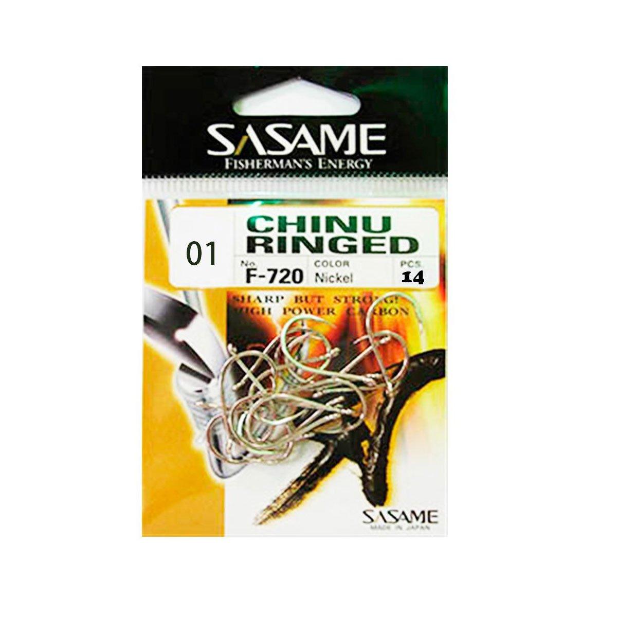Anzol Sasame F720 Chinu Ringed