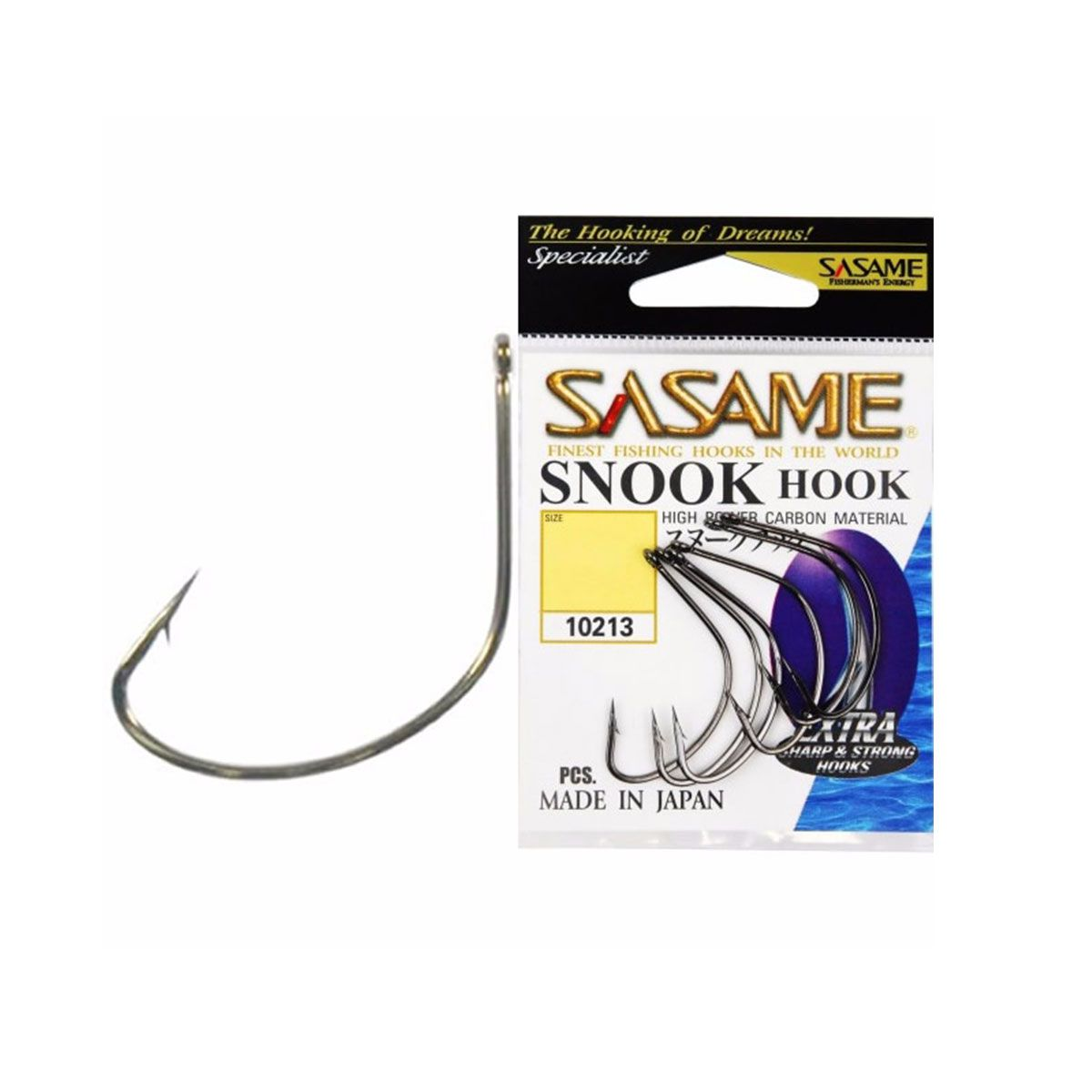 Anzol Sasame Snook Hook Black Strong Número: 2/0 - 06 unidades