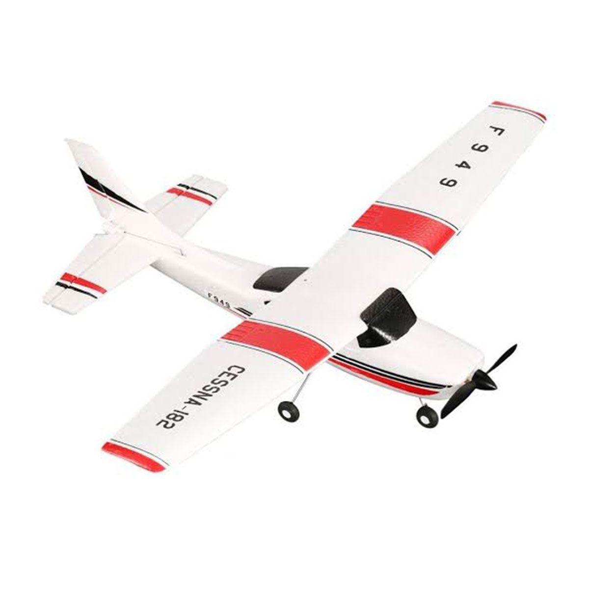 Avião de Controle WLtoys Cessna-182 F949 2.4GHz