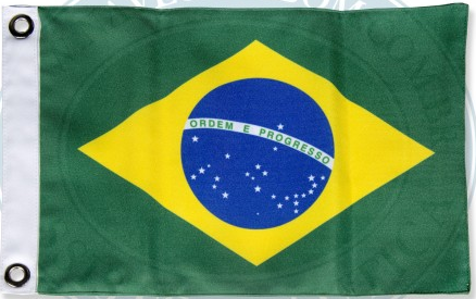 Bandeira do Brasil Marflex 22x33