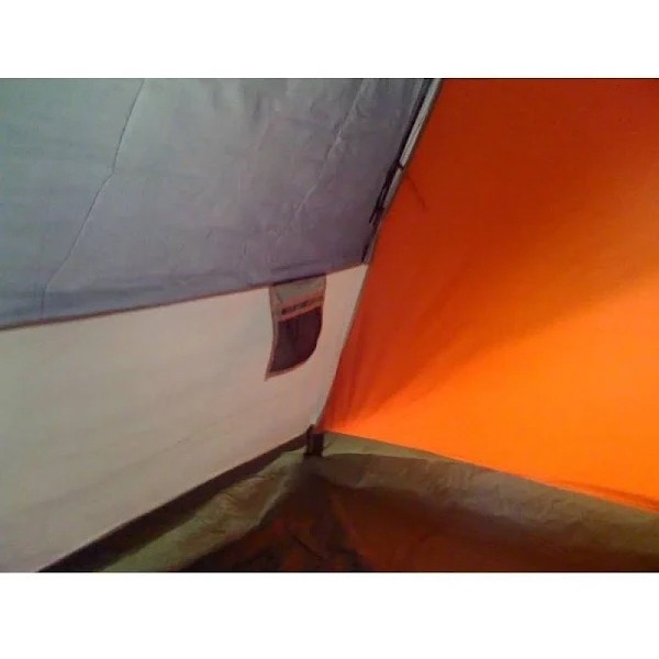 Barraca Impermeável Coleman LX3 Tent para 3 pessoas - Vermelho e Cinza