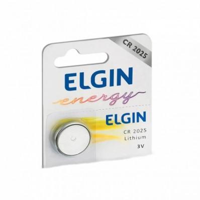 Bateria Elgin Lithium CR2025 Litio