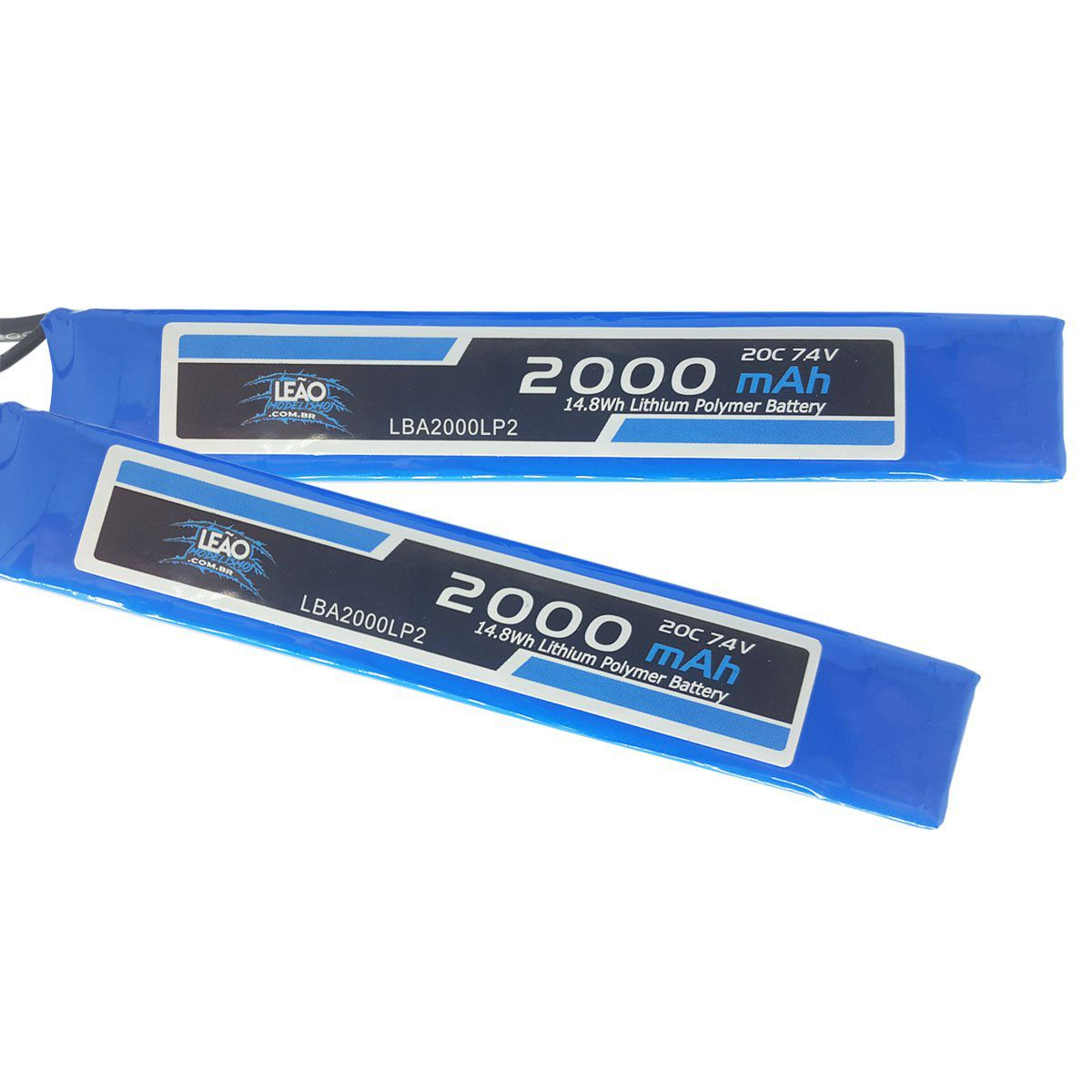 Bateria Lipo Leão Mini Tamiya Plug 7.4V 2000 mAh 20/40C