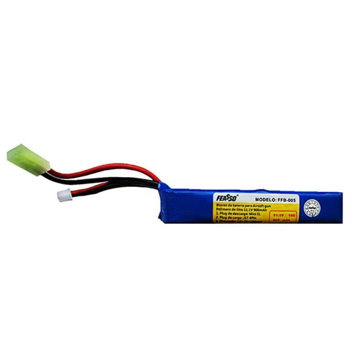Bateria Lipo FFB-005 (15C) 11.1V 900m Ah
