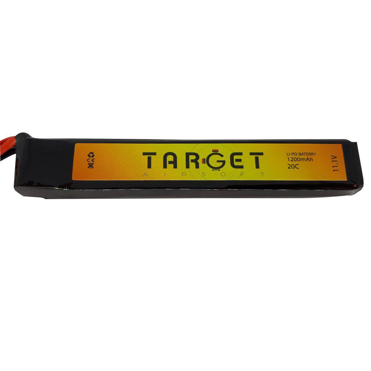 Bateria Lipo Target Mini Tamiya Plug 11.1V 1200 mAh 20c