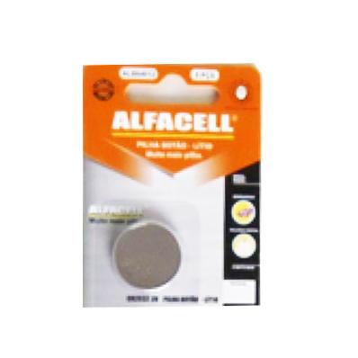Bateria Lithium CR 2025 3V Alfacell - 2 unidades