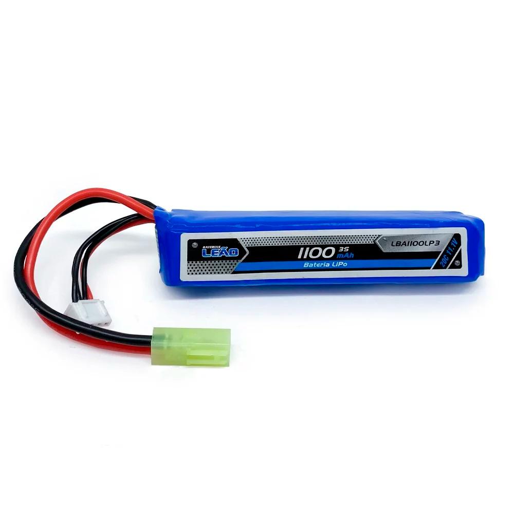 Bateria para Airsoft Leão Modelismo LiPo 11.1V/3S - 1100mAh