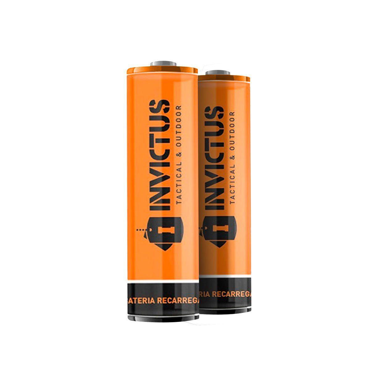 Bateria Recarregável de Lítio Invictus 14500