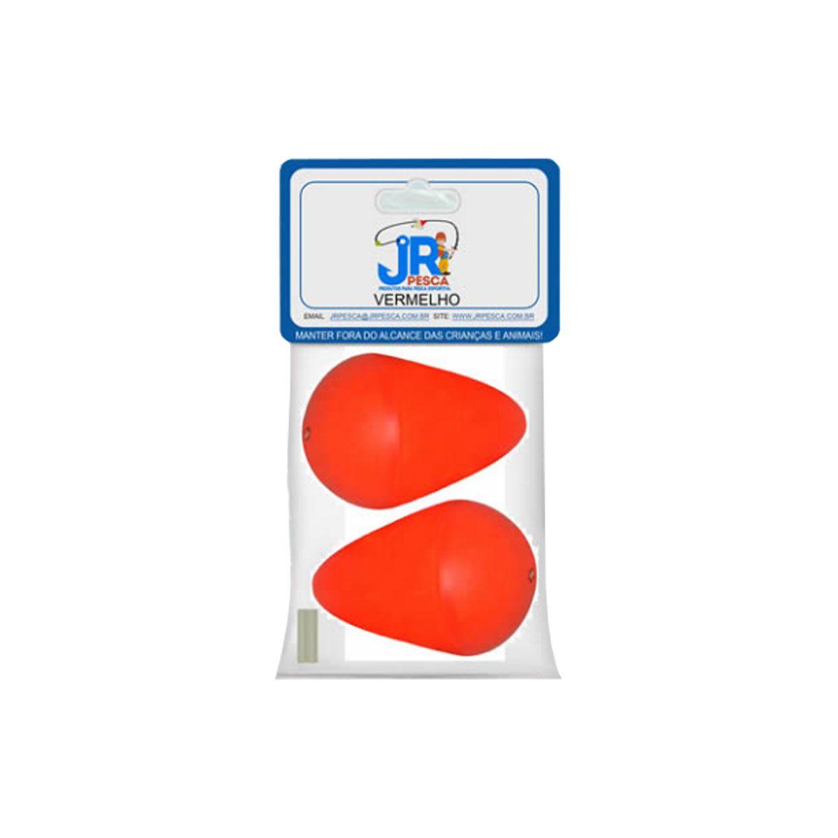 Boia JR Pesca Lambari Vermelho N08 - 02 un