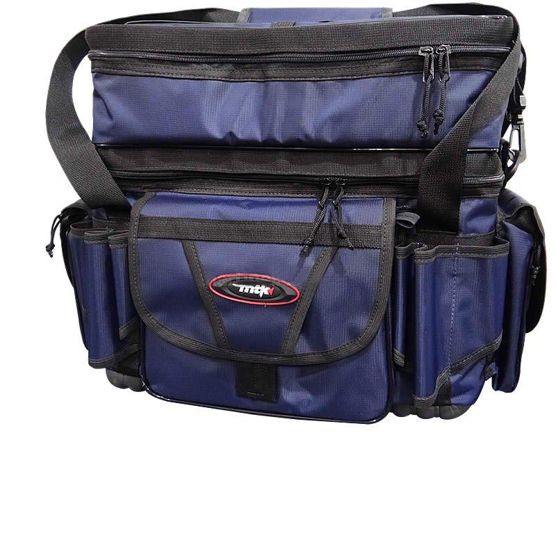 Bolsa de Pesca MTK Pro Master Azul - GG