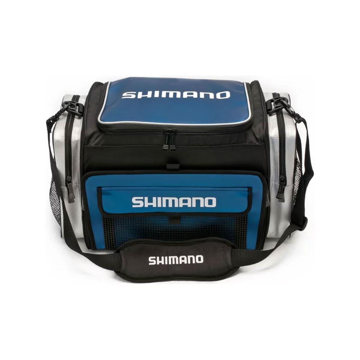 Bolsa Shimano Borona G - Preto e Azul
