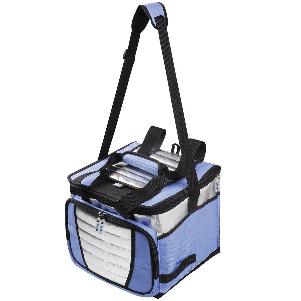 Bolsa Térmica Ice Cooler Mor 7,5 Litros Azul