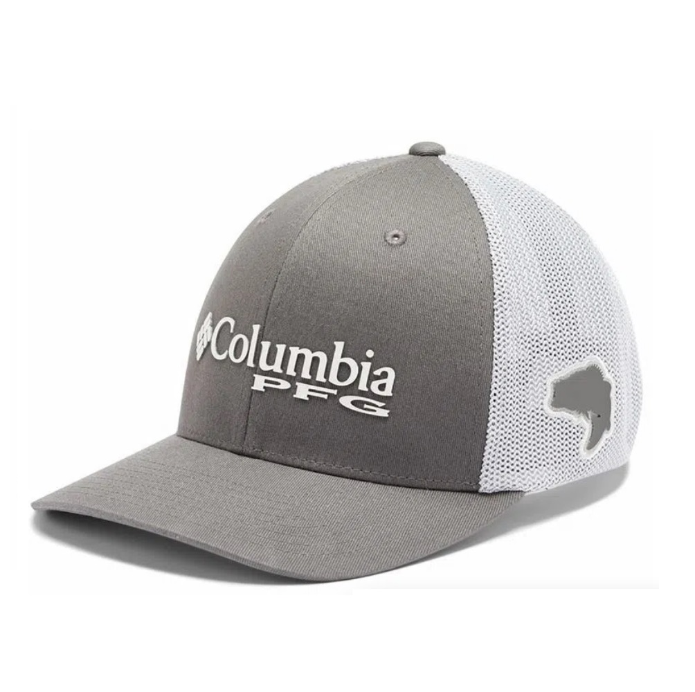 Boné Columbia PFG Mesh Ball Cap Cinza Grill