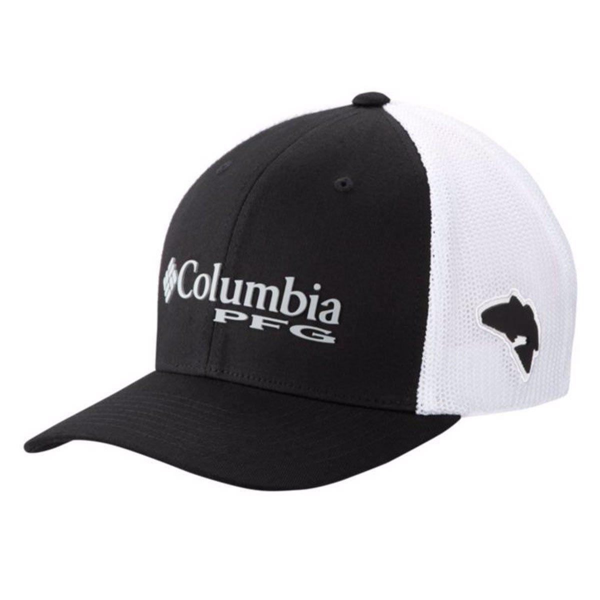 BONE COLUMBIA PFG MESH TM BALL CAP COLLEGIATE NAVY