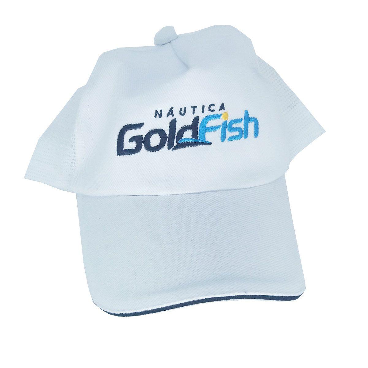 Boné Com Tela Nautica Gold Fish