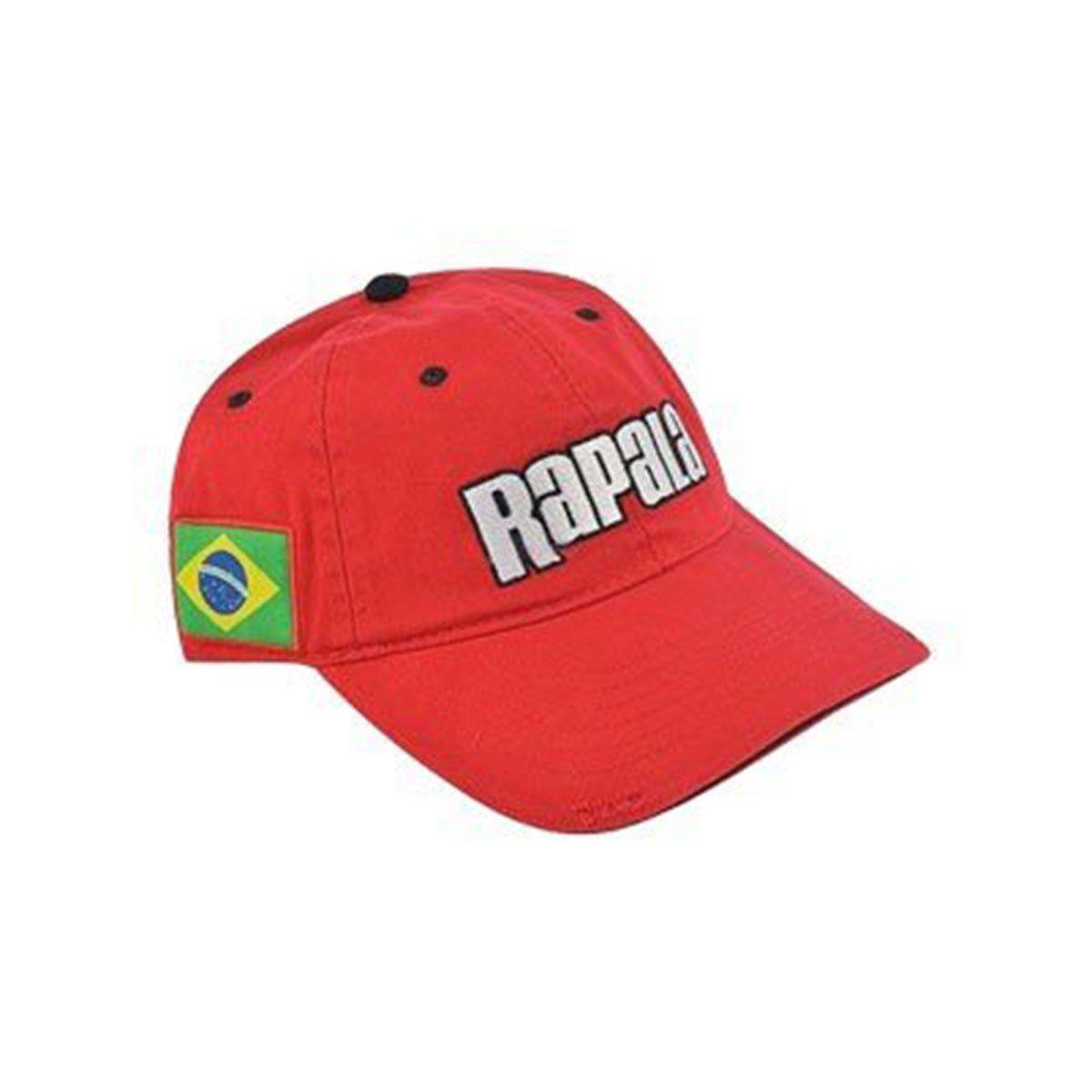 Bone Rapala Brasil Vermelho