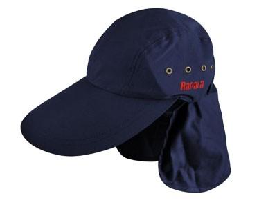 Boné Rapala com Proteção de Pescoço Azul Marinho