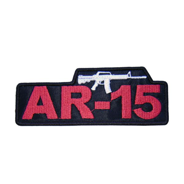 Bordado Termocolante AR - 15