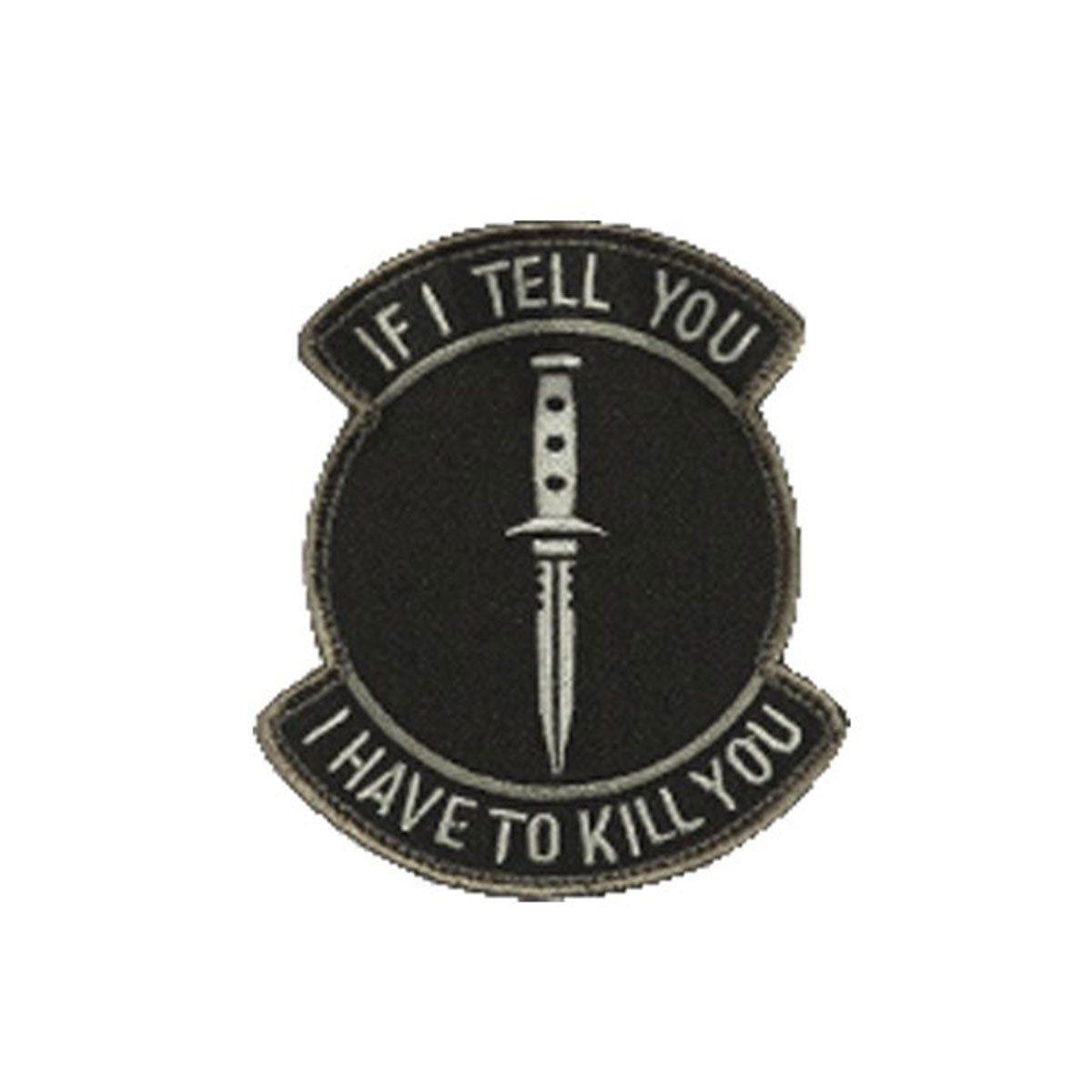 Bordado Termocolante Combate Kill You